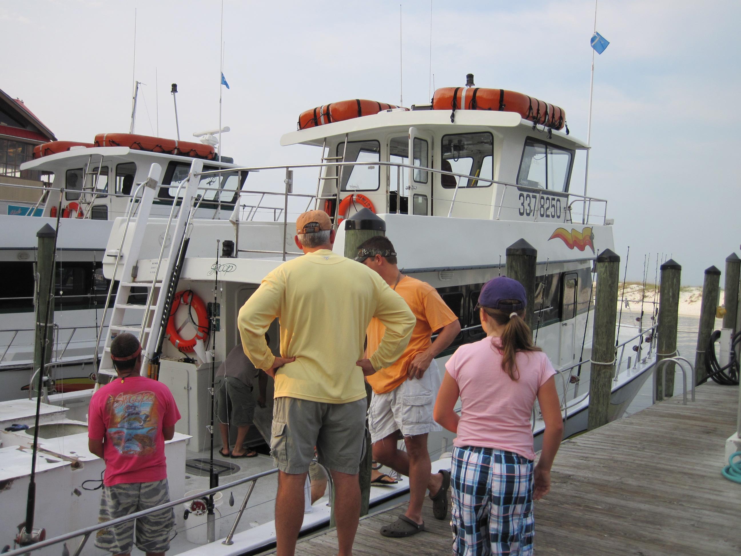 Deep sea fishing with swoop charters in destin fl for Destin florida fishing trips
