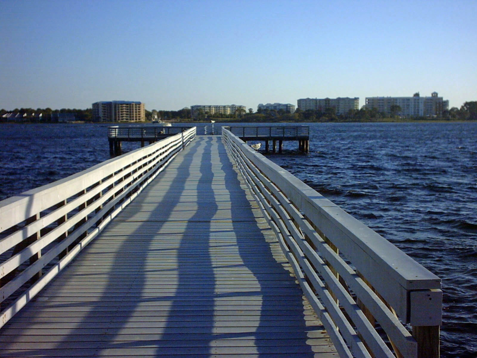Pier At St Andrews State Park In Panama City Beach Fl
