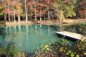 Blue Hole Swimming Area