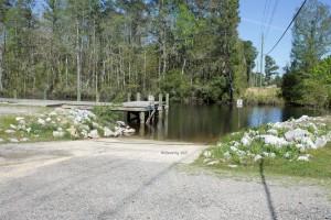 Alaqua Creek boat ramp