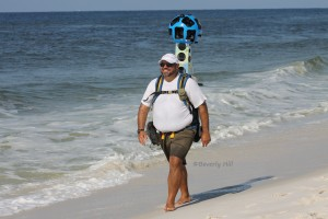 Google Trekker in Action on Okaloosa Island