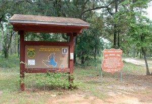 Trailhead for Jackson's Redground Trail