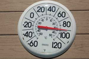 Thermometer 90 by Conservation Law Foundation